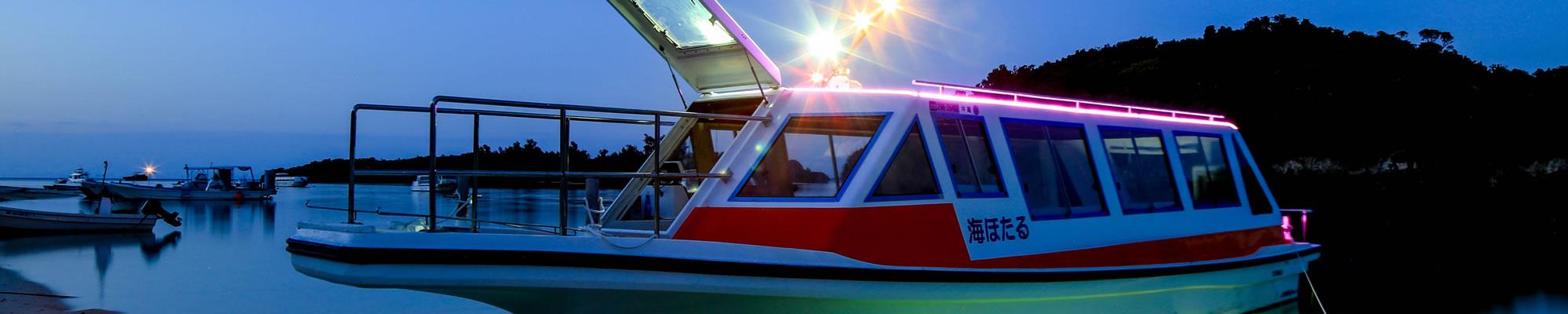 石垣島川平湾のグラスボート遊覧