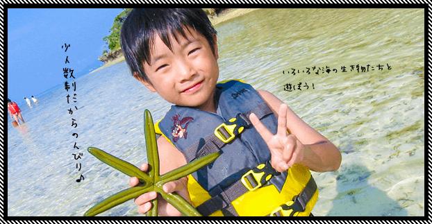 石垣島の無人島で一日遊べるツアー