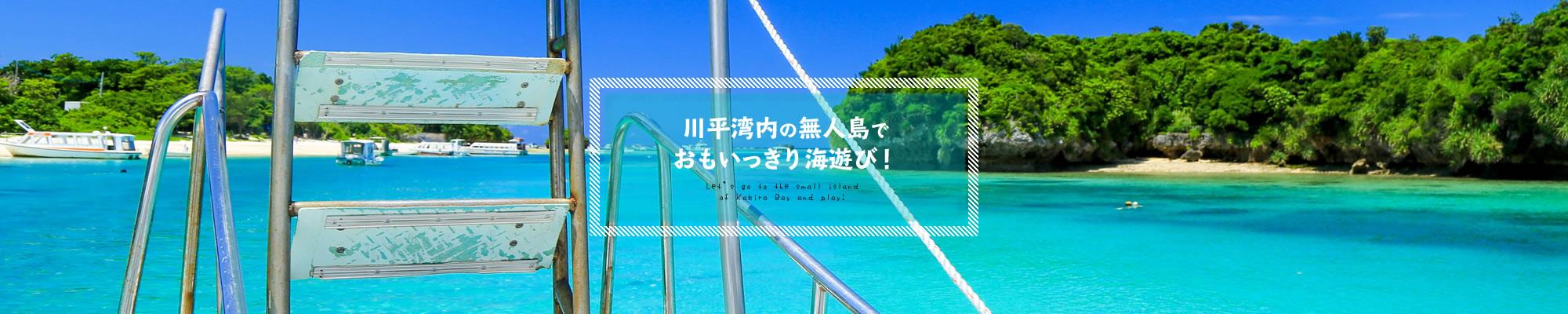 石垣島の無人島に行けるツアー